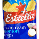 Estrella Sourcream & onion chips