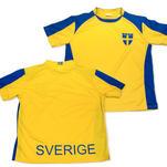 New Swedish soccer shirt Children size