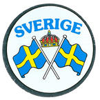 Sticker Sverige, Swedish flags
