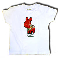 T-shirt with Dalecarlia horse