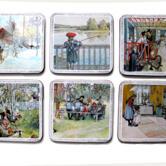 Coasters Carl Larsson