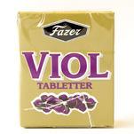 Violet leaf flavoured candy