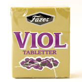 Violet leaf flavoured candy