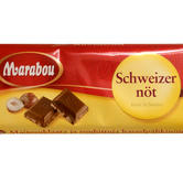 Marabou Milk Chocolate/hazel nut 100g