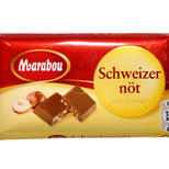 Marabou Milk Chocolate/hazel nut 24g