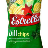 Chips with dill flavour from Estrella