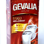 Coffee  Gevalia - medium roast