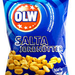 OLW Peanuts - Rosted and salted