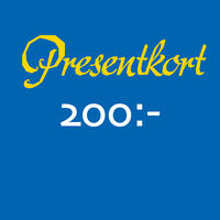 Presentkort 200 SEK