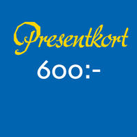 Presentkort 600 SEK