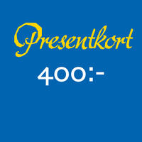 Presentkort 400 SEK