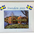 Swedish Wall Calender 2013